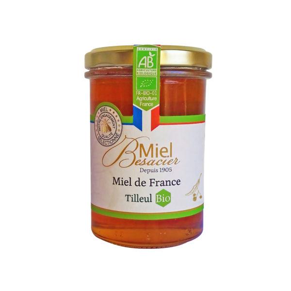 Miel de Tilleul Bio de France