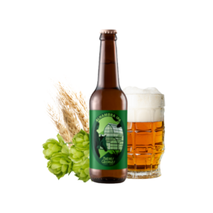 Montrer le produit de notre cave : la bière Alhambra ipa de Bières Georges