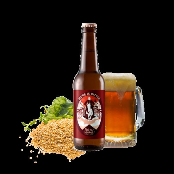 Montrer le produit de notre cave : la bière More is Bitter de Bières Georges