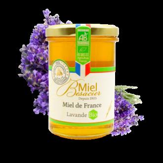 Miel de France Besacier bio à la lavande.