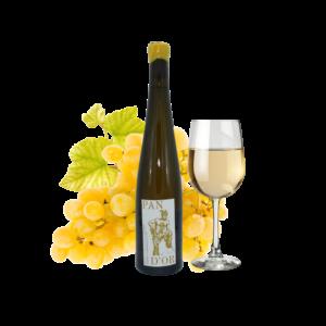 Montrer le produit de notre cave : le vin de France Pan d'or Chardonnay, un vin blanc